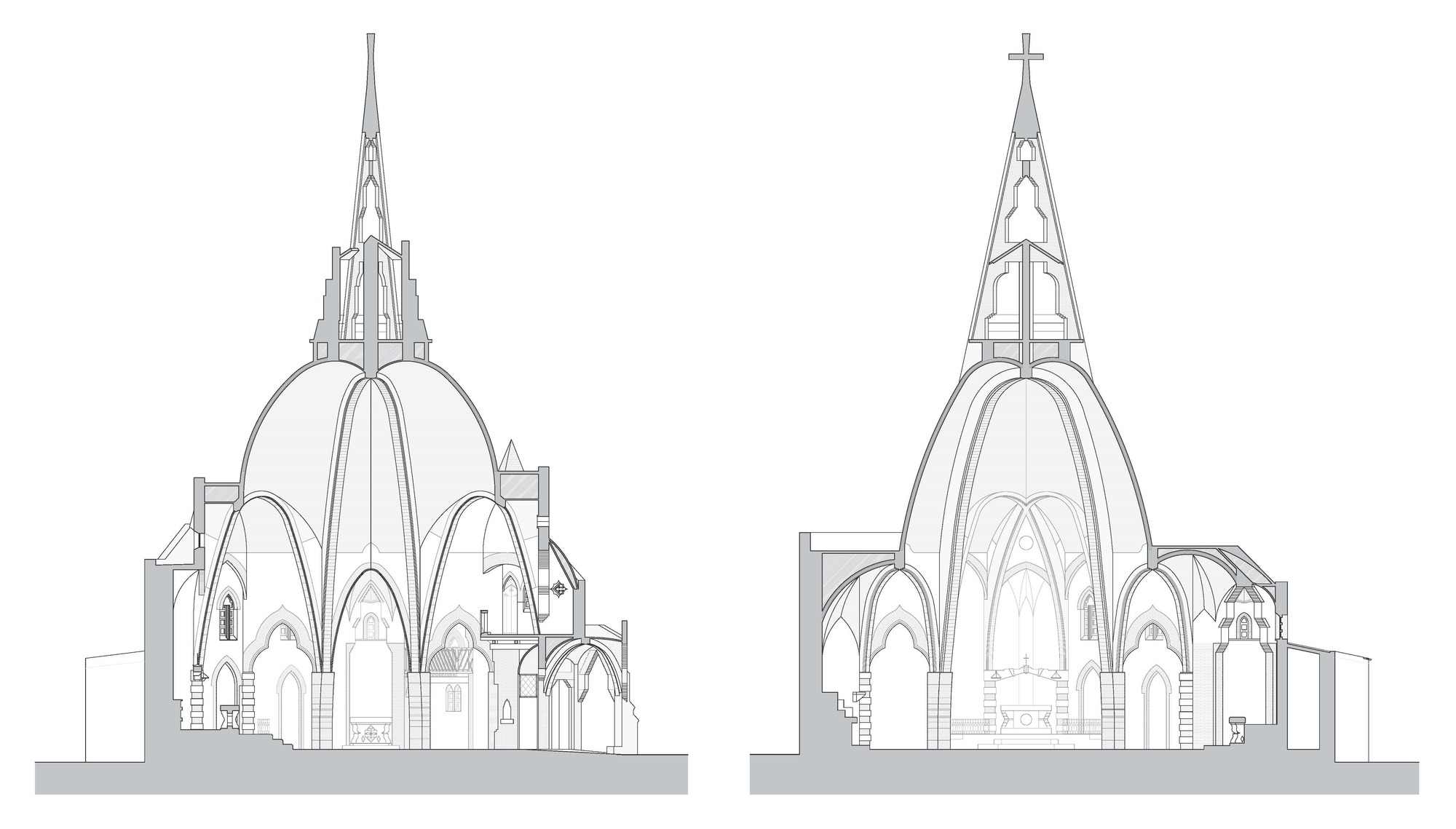 Gallery of Catalan Church Restored Using Ingenious Tensioning System  - 1