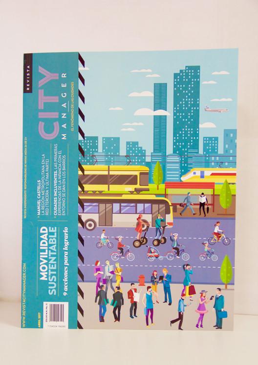 Esta edición de la Revista City Manager se enfoca en movilidad urbana, Cortesía de Revista City Manager