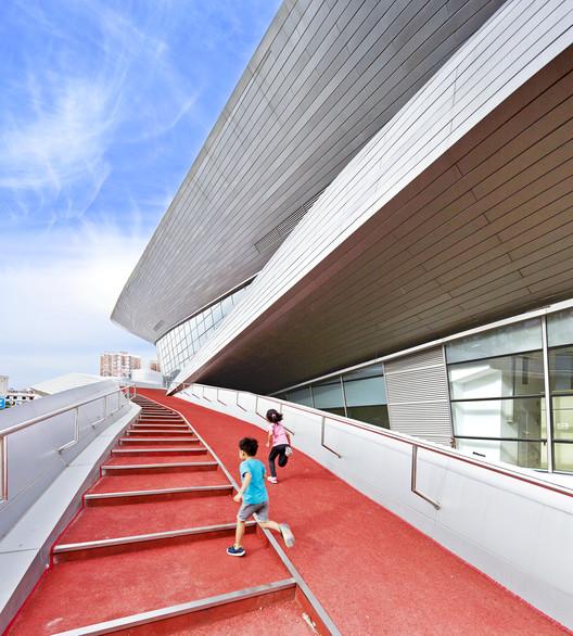 Hongkun Xihongmen Sports Park / Mochen Architects&Engineers, © Hao Shu