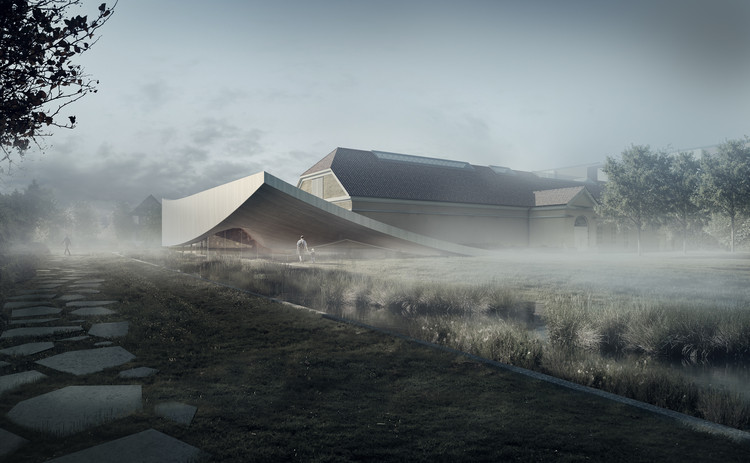 3XN Reveals Design for Extension of Silkeborg Museum, Courtesy of 3XN Architects