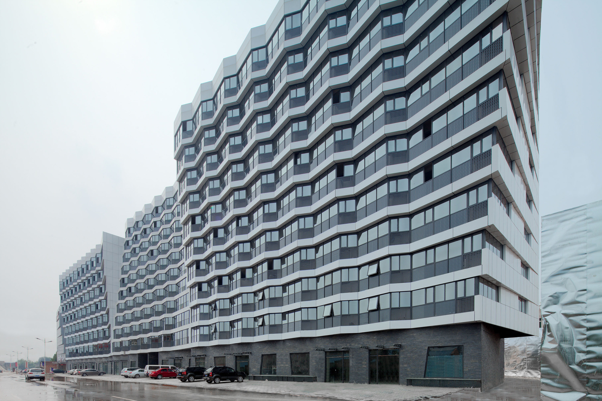 Dongrun Apartment Building Praxis D Architecture Archdaily