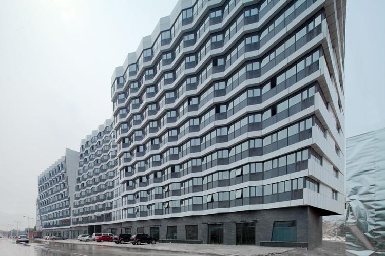 Dongrun Apartment Building / Praxis d'Architecture, © Zhou Ruogu, Jin Fengzhe