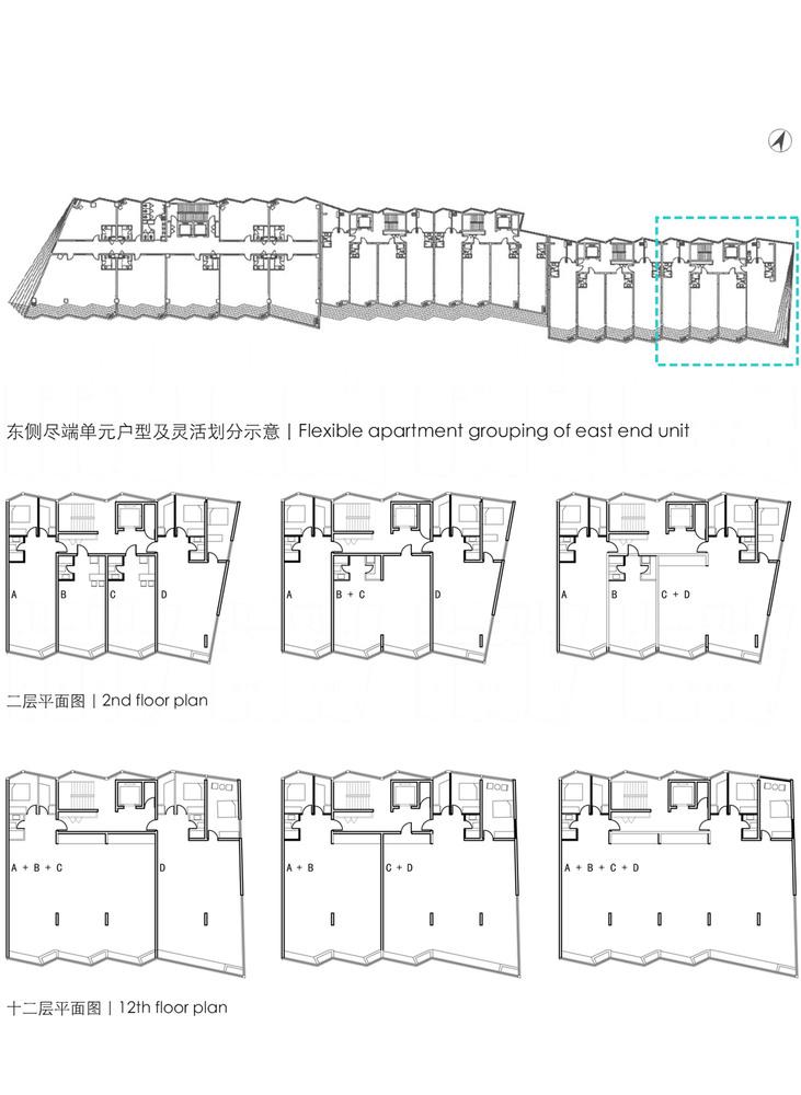 Gallery of Dongrun Apartment Building / Praxis d ...