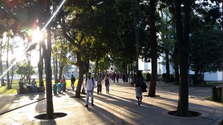 Sete passos para cidades mais inteligentes, Campus da Universidade Nacional da Colômbia, em Bogotá. Image © Bruno Ávila
