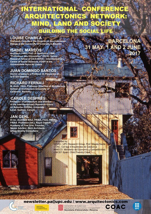 "Conferência Internacional ""Arquitectonics: Mind, land & Society - Building The Social Life"", GIRAS"