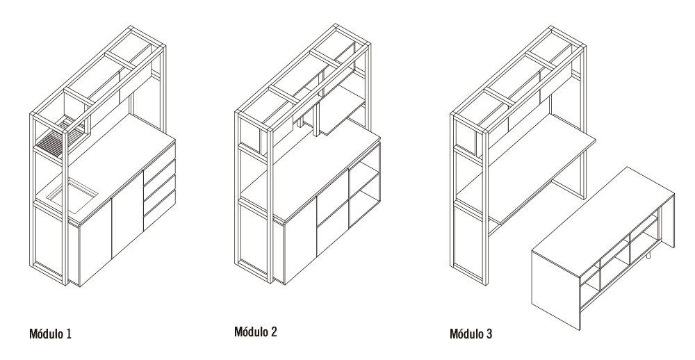 Galería de ¿Cómo construir una cocina modular? (Parte 2) - 1