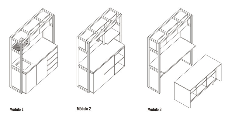 How to Build a Modular Kitchen, Cortesía de Arauco