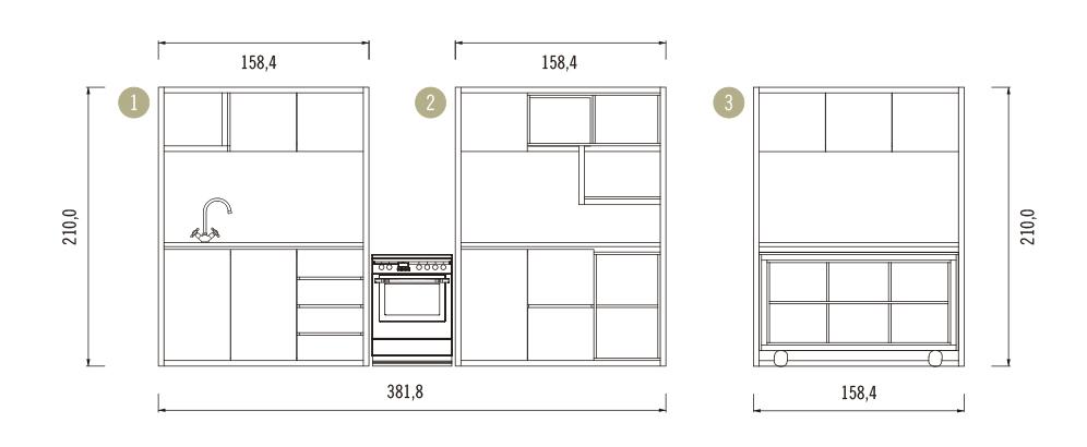Galería de ¿Cómo construir una cocina modular? (Parte 2) - 47
