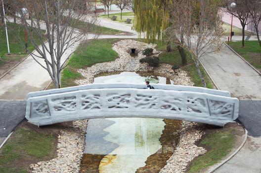 Primer Puente impreso en 3D del mundo. Image Cortesía de IAAC