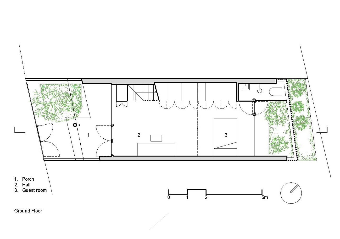 Gallery of bamboo house vtn architects 13 - Bamboo house design and floor plan ...