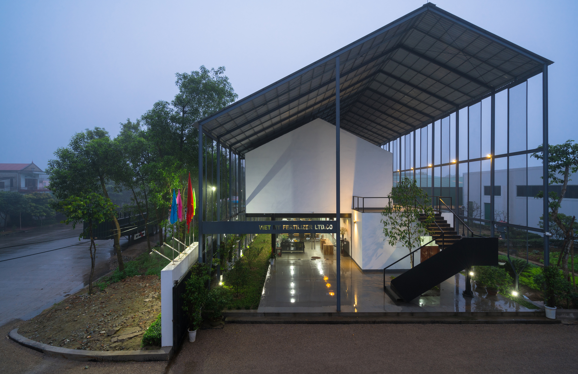 Viet My Office Tnt Architects Archdaily
