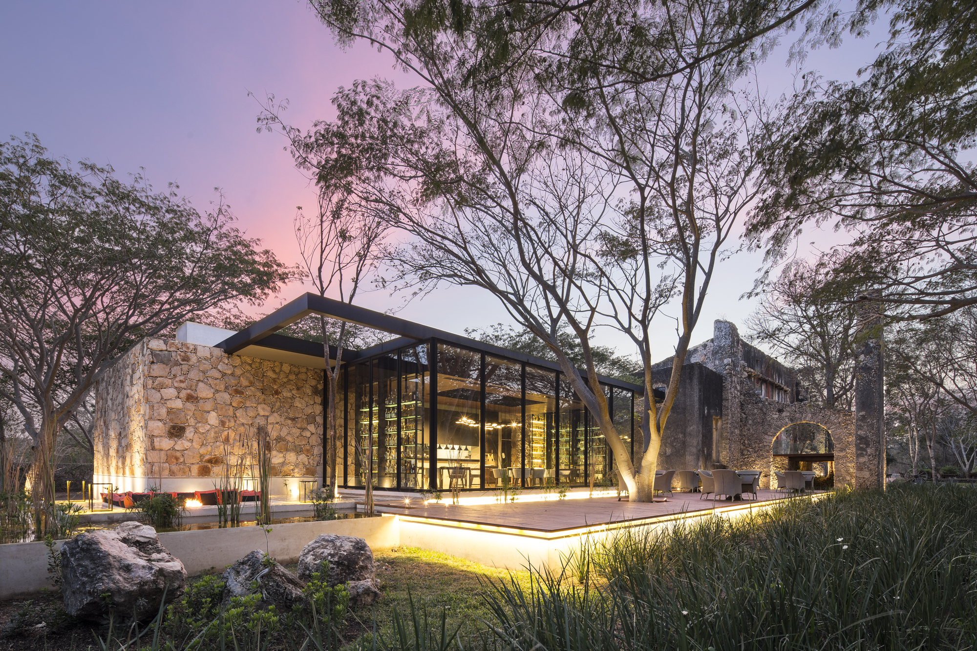 Ixi im restaurant jorge bolio arquitectura lavalle for Restaurante arquitectura