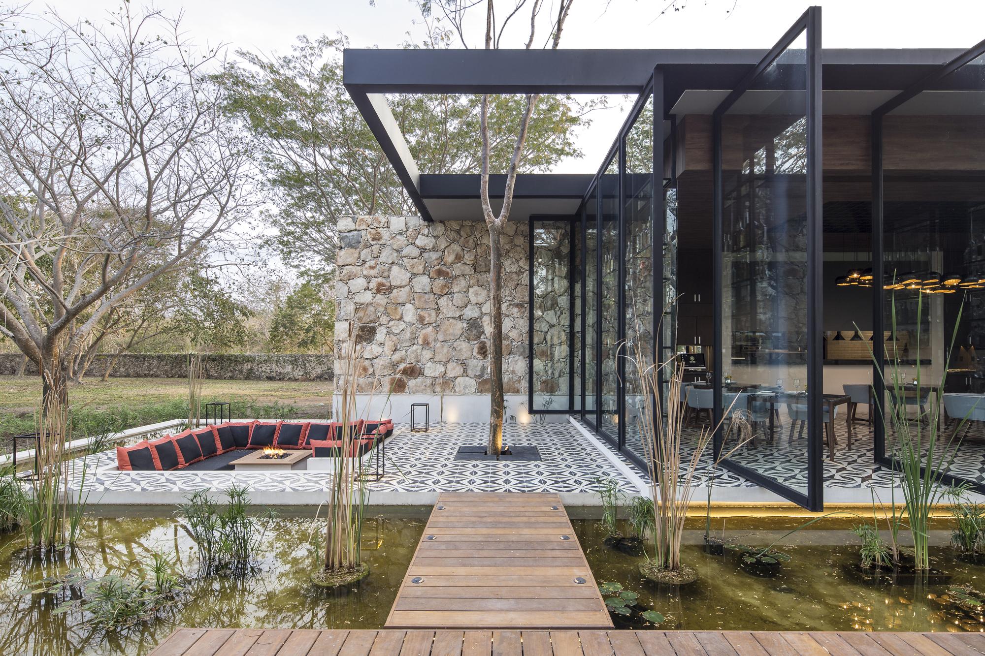 Galeria De Restaurante Ixi Im Jorge Bolio Arquitectura