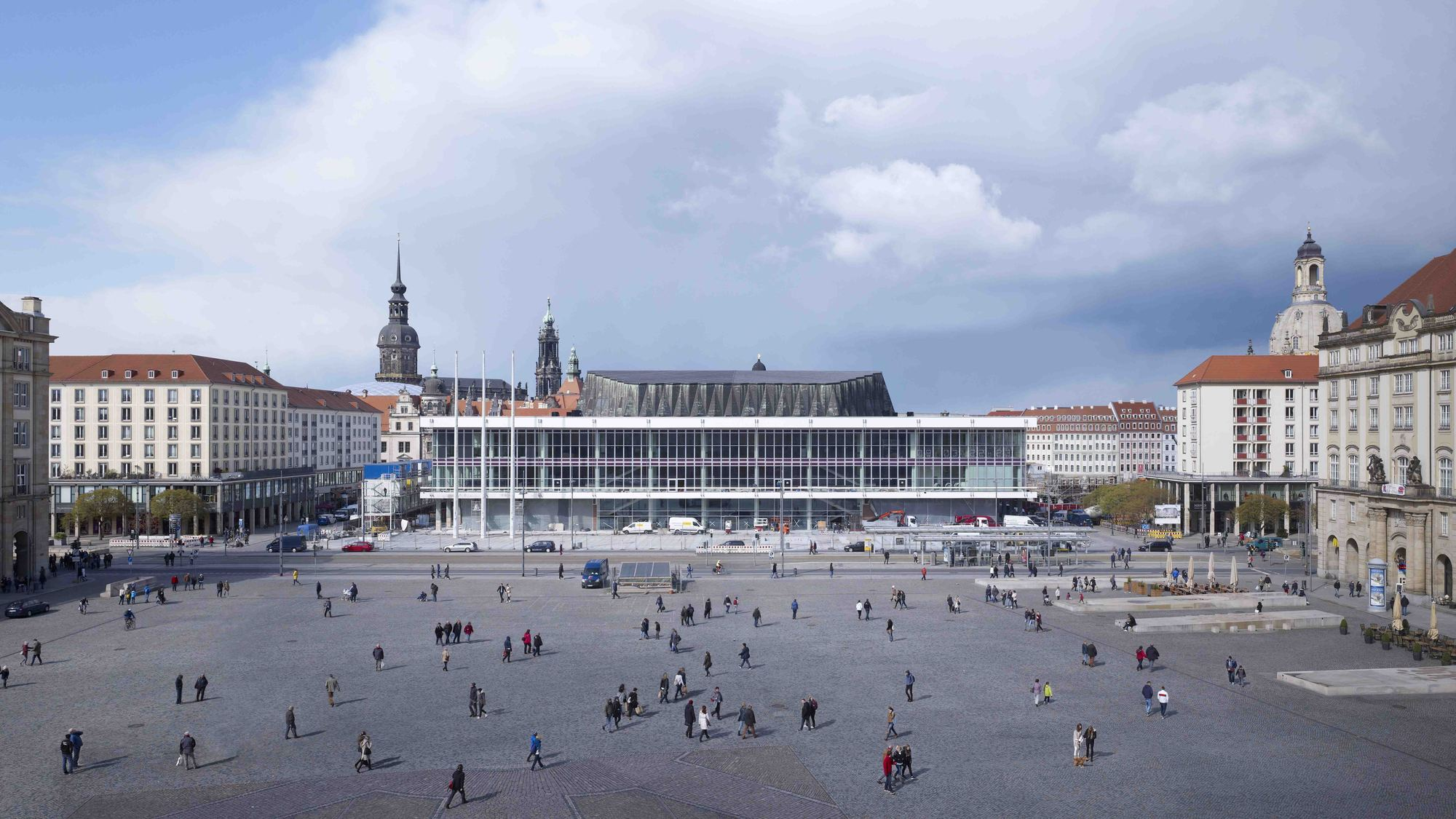 Kulturpalast in dresden gmp architects archdaily for Designhotel dresden