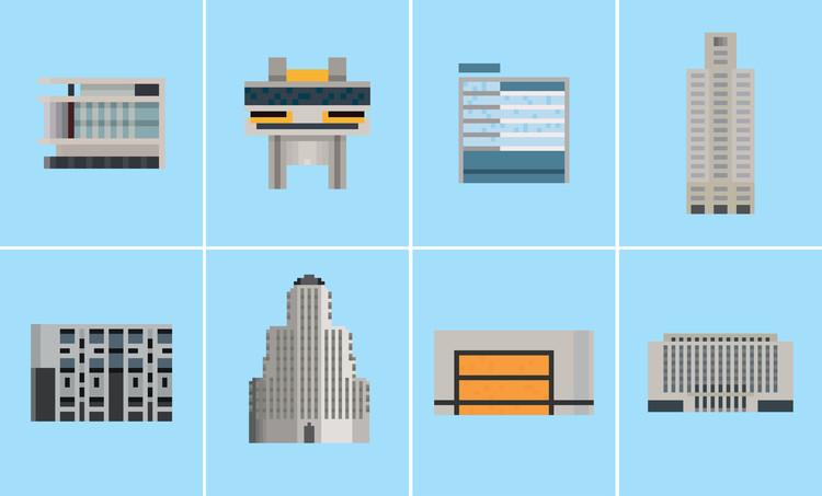 8 Clássicos da arquitetura argentina ilustrados por Hernán Berdichevsky, Cortesía de Moderna Buenos Aires