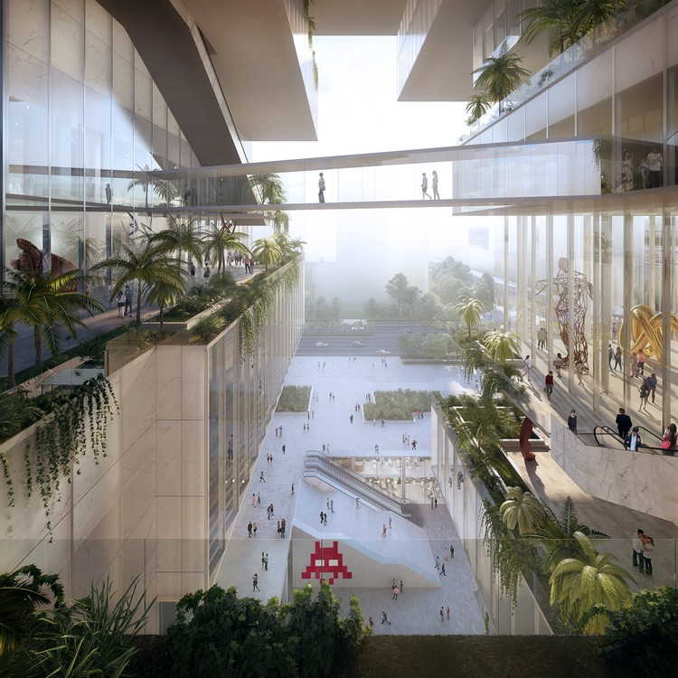 Coldefy Associés and ECADI Win Competition for New Bao'an Cultural Center in Shenzhen, © VIZE