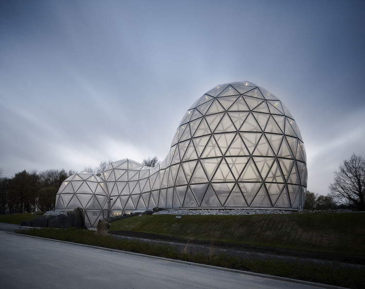 Dinosaur Theme Park Entrance Building / rimpf ARCHITEKTUR, © Michael Moser