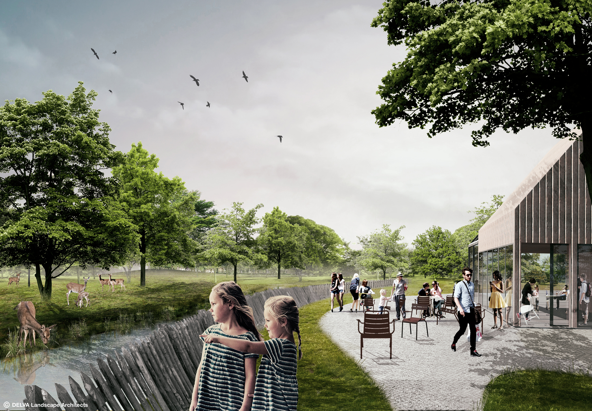 Gallery Of Delva Landscape Architects To Revive The Hague