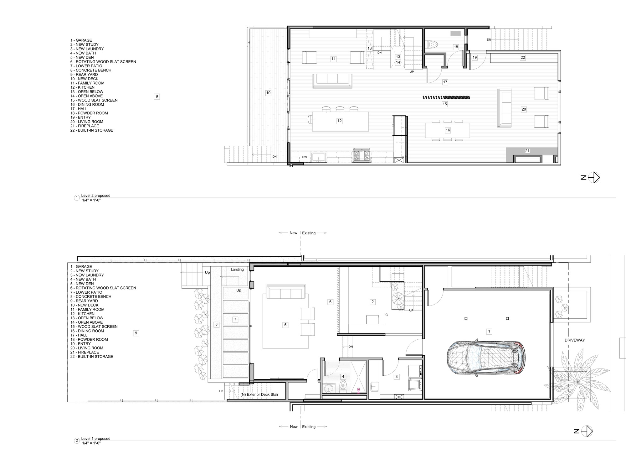 Gallery of noe valley house designpad architecture 21 for Corner fireplace framing plans