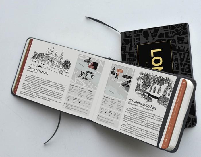 """Guia """"Architectour"""" ajuda a desvendar os segredos mais bem guardados de algumas cidades, via Kickstarter. Cortesia de Virginia Duran"""