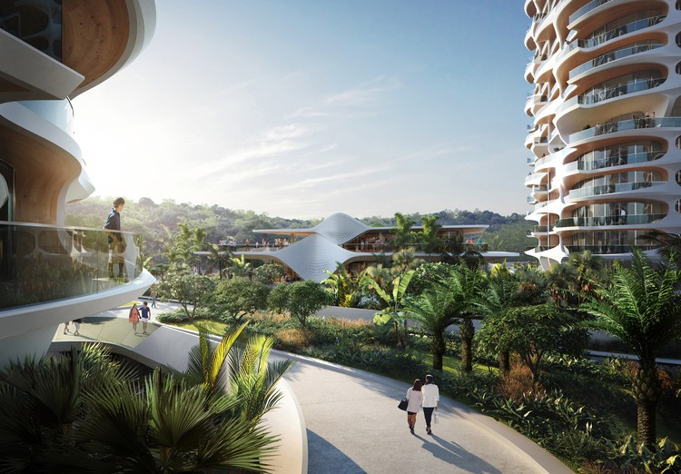 Zaha Hadid Architects Reveal Ecological Residential Complex for the Mayan Riviera, © www.mir.no