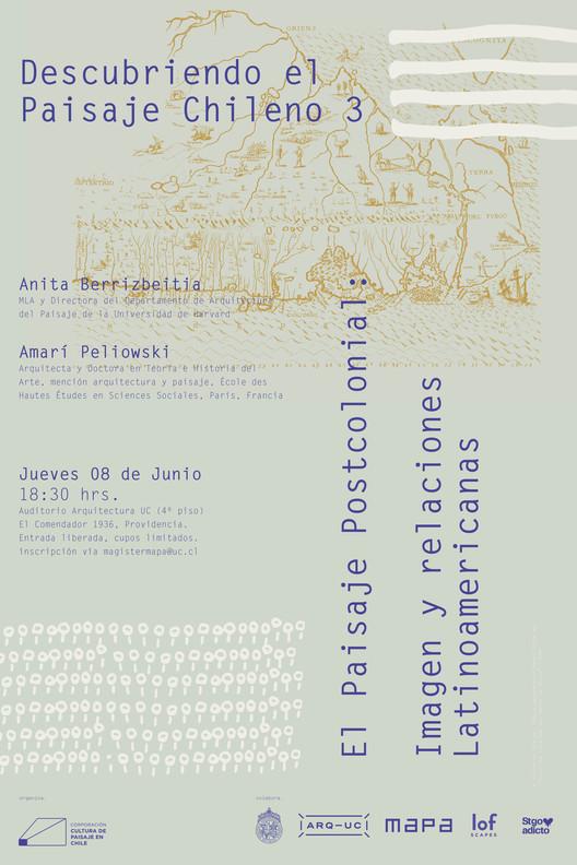 Descubriendo el paisaje chileno. El paisaje postcolonial: imagen y relaciones latinoamericanas, Corporación Cultura de Paisaje en Chile