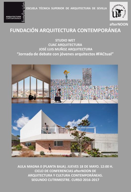 Jornada de debate con jóvenes arquitectos #FACtual, Universidad de Sevilla