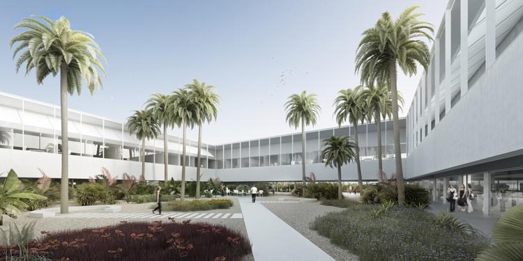 Universidad de Málaga presenta diseño ganador de su futuro pabellón de gobierno, Cortesía de Lecumberri & Cidoncha