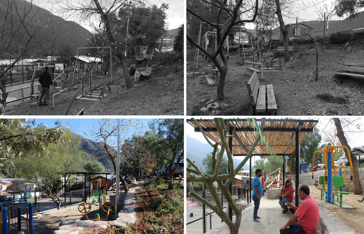 Abren concurso de diseño de juegos infantiles inclusivos para espacios públicos en Chile, Proyecto de Fundación Mi Parque en Plaza Chacarillas (San José de Maipo, Chile). Image © Fundación Mi Parque