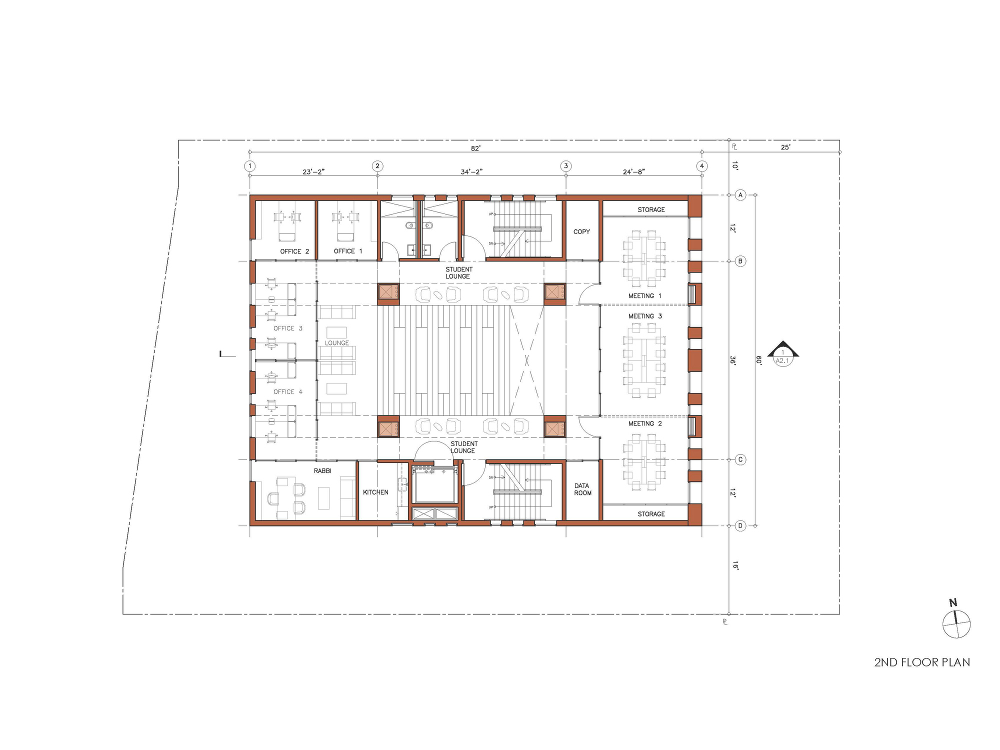 Gallery of center for jewish life at drexel university - Drexel planning design and construction ...