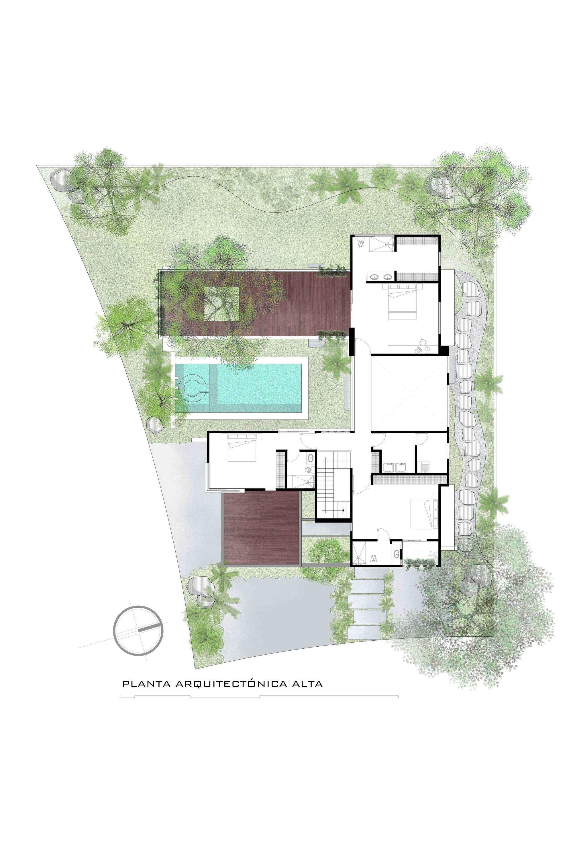 Galer a de casa kalyvas di frenna arquitectos 27 for Calcare di piani casa texas