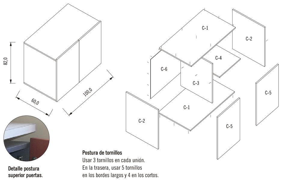 Galería de ¿Cómo construir una cocina modular? - 19