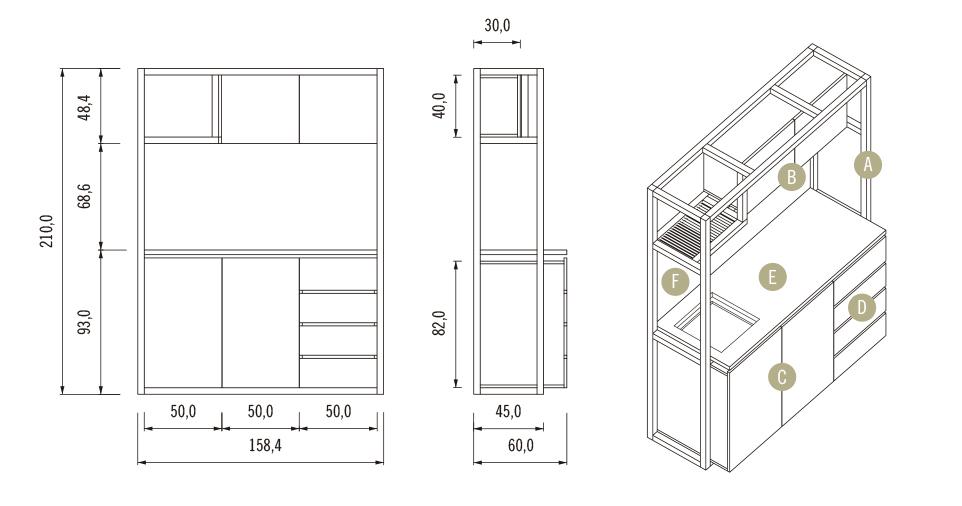 Galería de ¿Cómo construir una cocina modular? (Parte 2) - 9