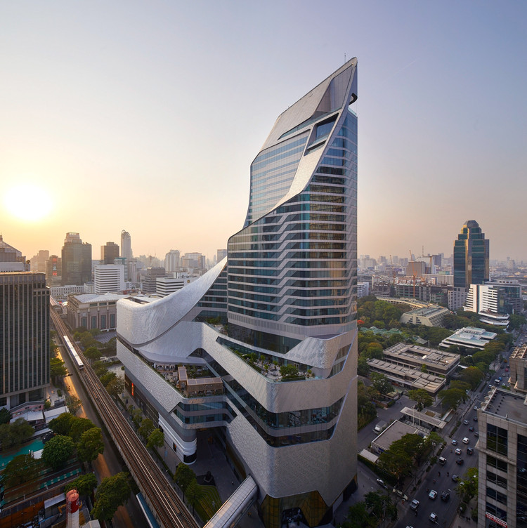 Central Embassy in Bangkok / AL_A, © Hufton+Crow