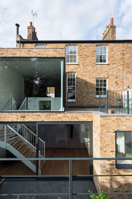 Clapham House / MWArchitects, © French + Tye