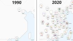 Conoce la vertiginosa evolución del Metro en China
