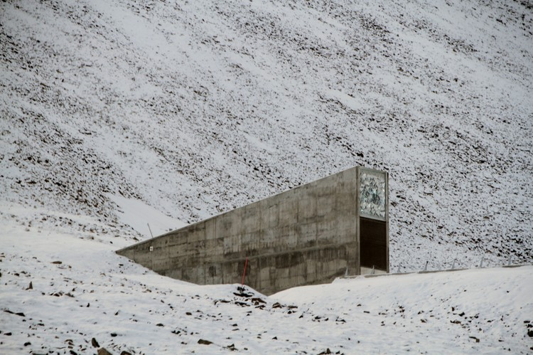 "Svalbard ""Doomsday"" Seed Vault Floods After Record Winter Temperatures, © <a href='https://commons.wikimedia.org/wiki/File:Svalbard_seed_vault_IMG_8751.JPG'>Wikimedia user Bjoertvedt</a> licensed under <a href='https://creativecommons.org/licenses/by-sa/3.0/deed.en'>CC BY-SA 3.0</a>"