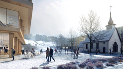 Emerging Studio Wins Competition to Expand one of Norway's Largest University Campuses