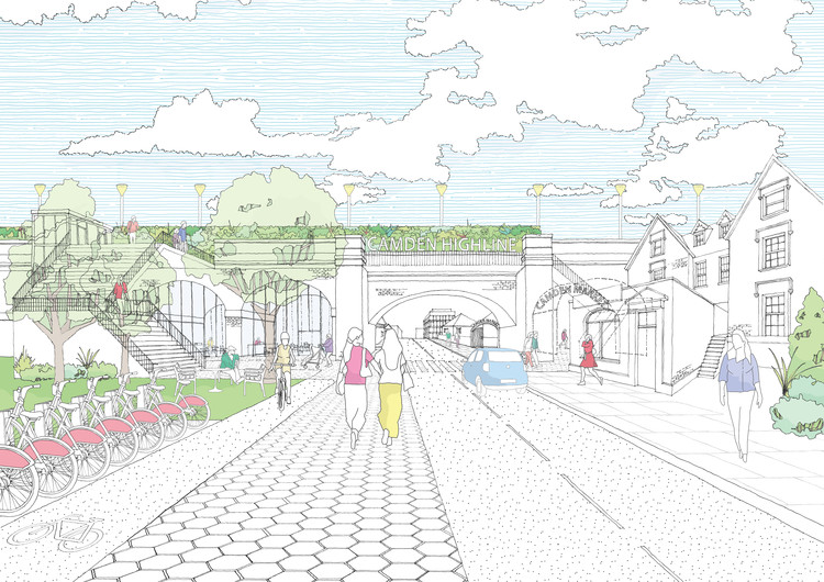 London to Follow in New York's Footsteps With Camden High Line, via Camden Town Unlimited