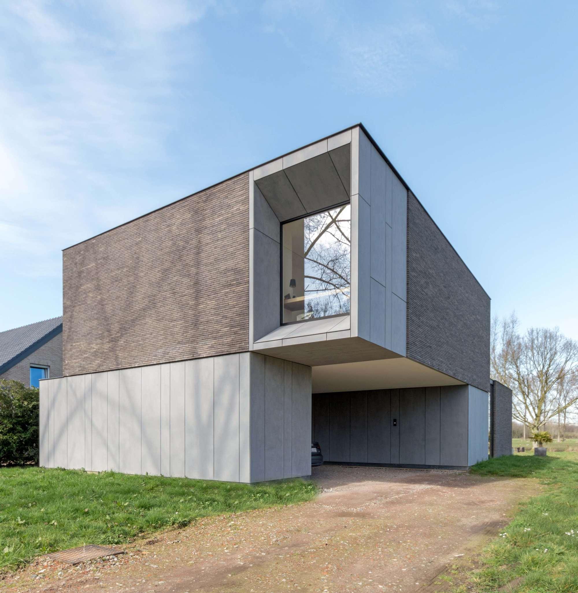 Architecture Home Modern House Design: DE BAEDTS House / Architektuuburo Dirk Hulpia
