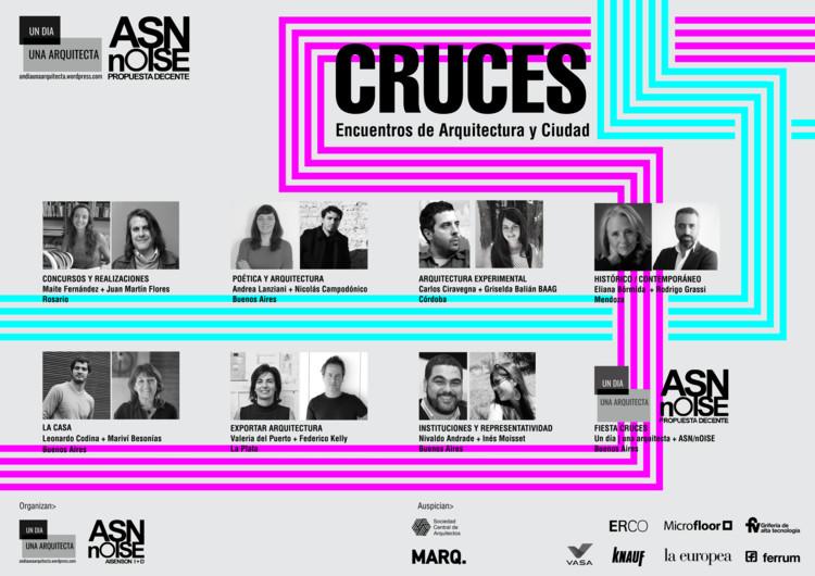 CRUCES: Encuentros de Arquitectura y Ciudad en Argentina, Cortesía de Un Día | Una Arquitecta