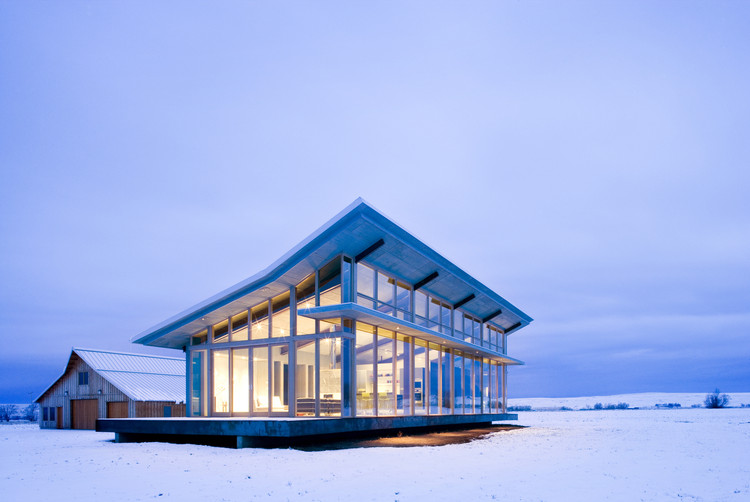 Glass Farmhouse / Olson Kundig, © Tim Bies