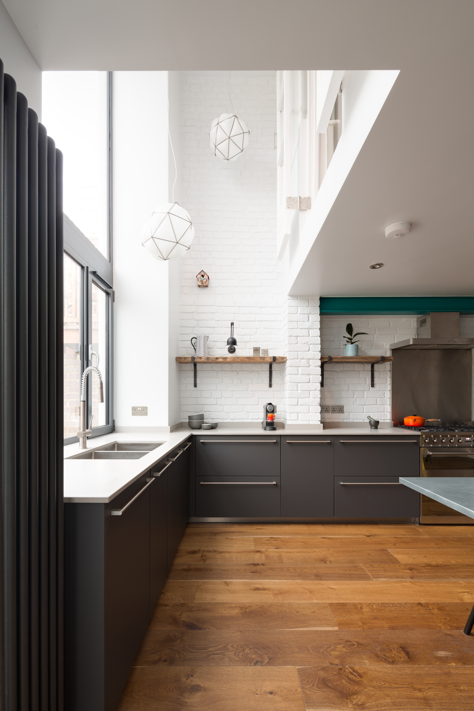 High Kitchen A Zero Architects Archdaily