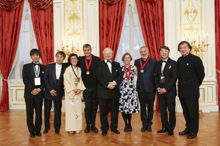 Rcr arquitectes 39 pritzker prize acceptance speech archdaily for Richard meier opere