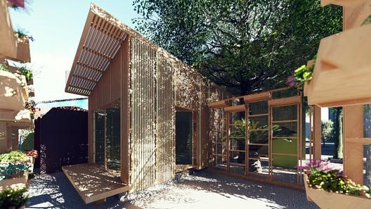 'Arquitectura para los sin suelo': Inmigración haitiana en Chile