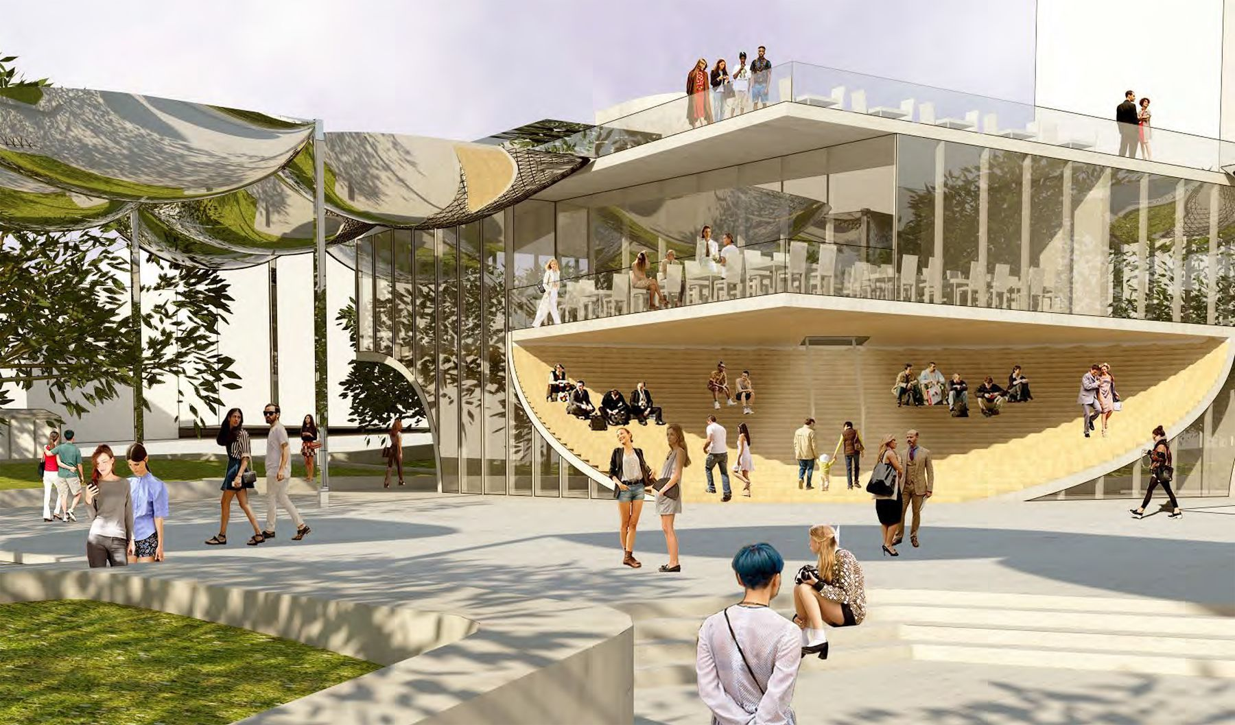 Oma And Mia Lehrer Associates Fab Park Redesigned For