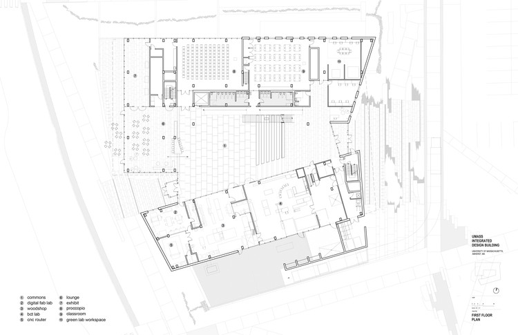 University of massachusetts amherst design building - College of design construction and planning ...