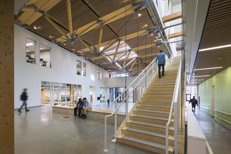 University Of Massachusetts Amherst Design Building Leers Weinzapfel Associates C Albert Vecerka