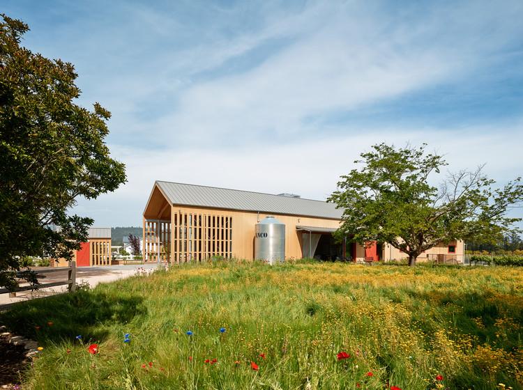 Napa Barn Anderson Architects Archdaily
