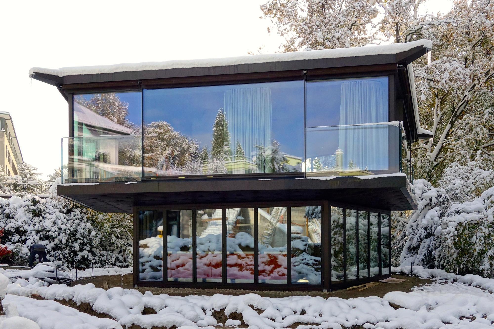 Brunner Architekten a garden pavilion in zurich oliv brunner volk architekten archdaily